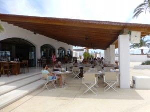 restaurante Pachá hotel Destino