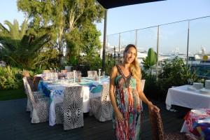 daniela Tapia restaurante Cavalli Ibiza
