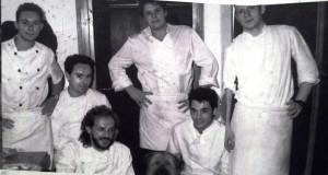 Ferran Adriá y su hermano Albert en la cocina de El Bulli
