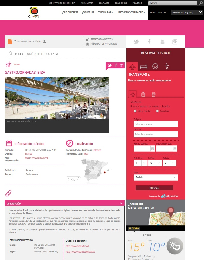 Spain.info GastrJornadas