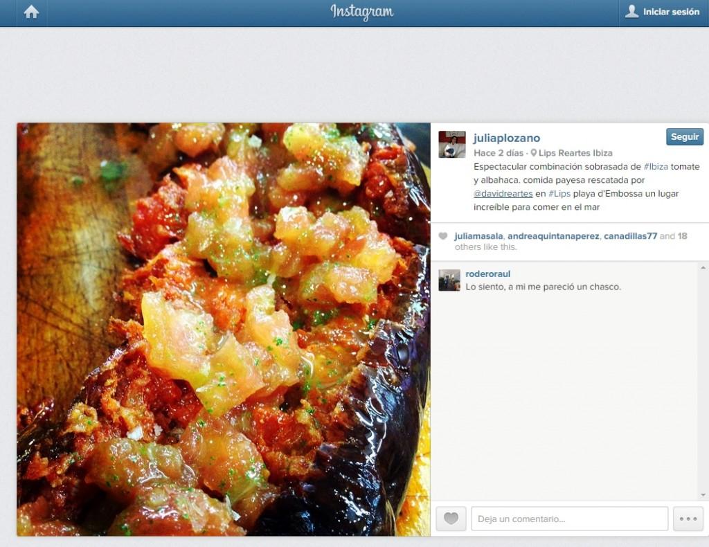 Julia Pérez Lozano instagram