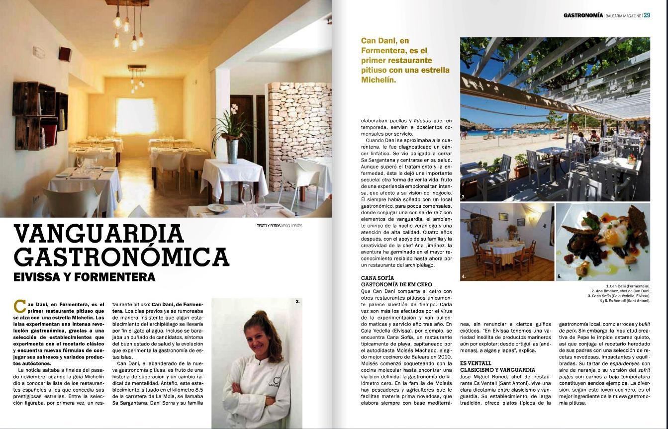 Vanguardia Gastronomica Eivissa y Formentera 1