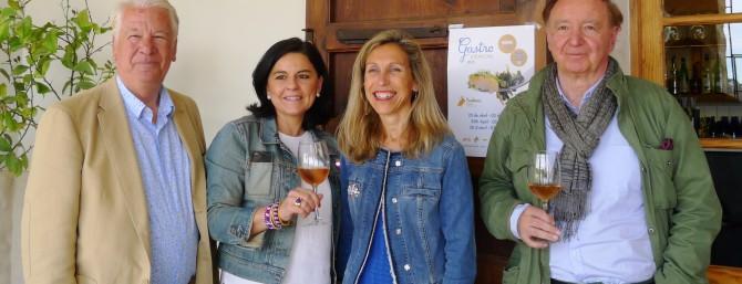 José Carlos Capel, Julia Pérez, Joan Riera y Carmen Ferrer