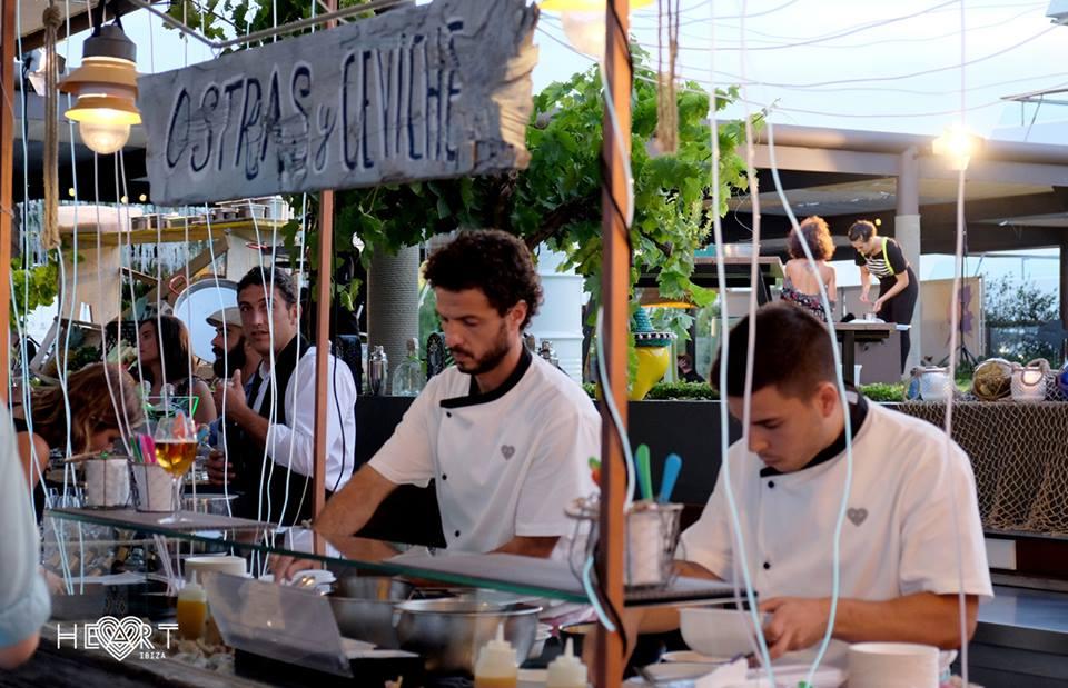 Heart Ibiza street food