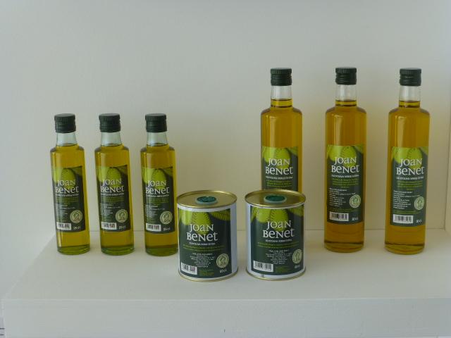 Aceite Joan Benet