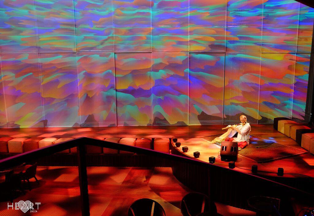 Excelencia artística en el restaurante Heart Ibiza