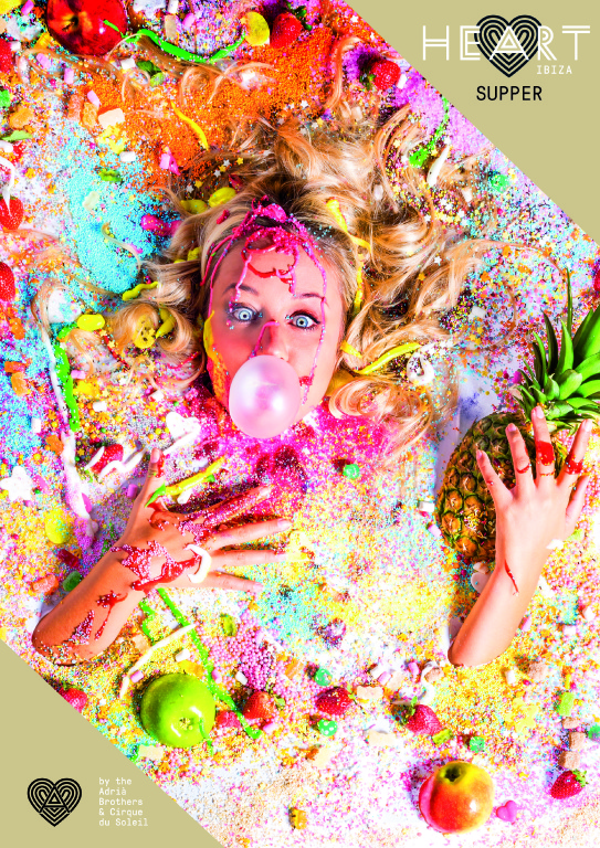 Revolución artística en el restaurante Heart Ibiza