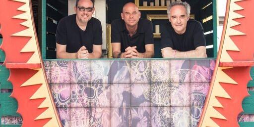 Albert Adriá, Gay Laliberté y Ferran Adriá Heart Ibiza