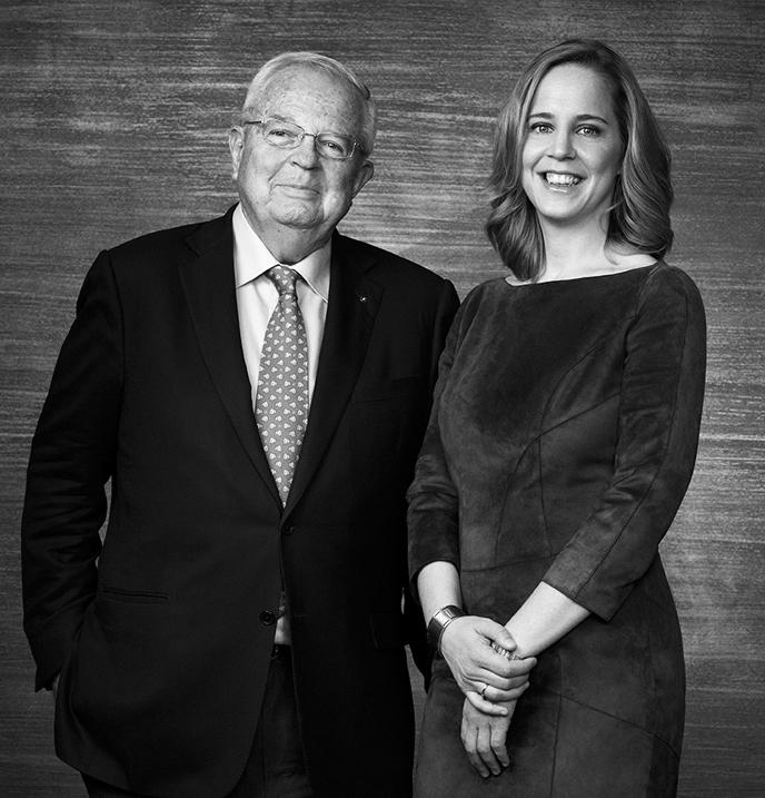 Enrique Loewe y Sheila Loewe