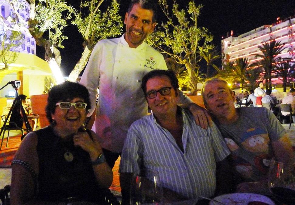 Silvia Castillo, Jesus Turel y Germán G Lama