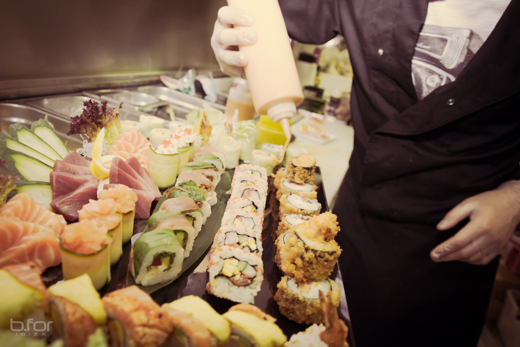 B For restaurante japonés Ibiza
