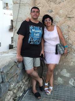 Xescu Prats y Silvia Castillo