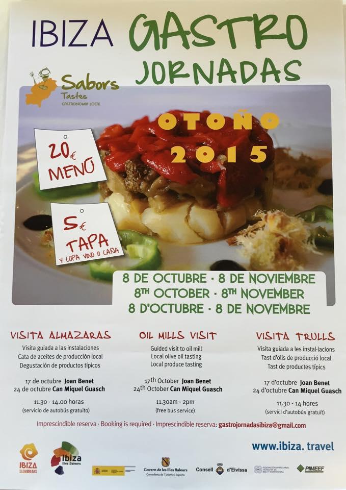 GastroJornadas 2015 de otoño en Ibiza