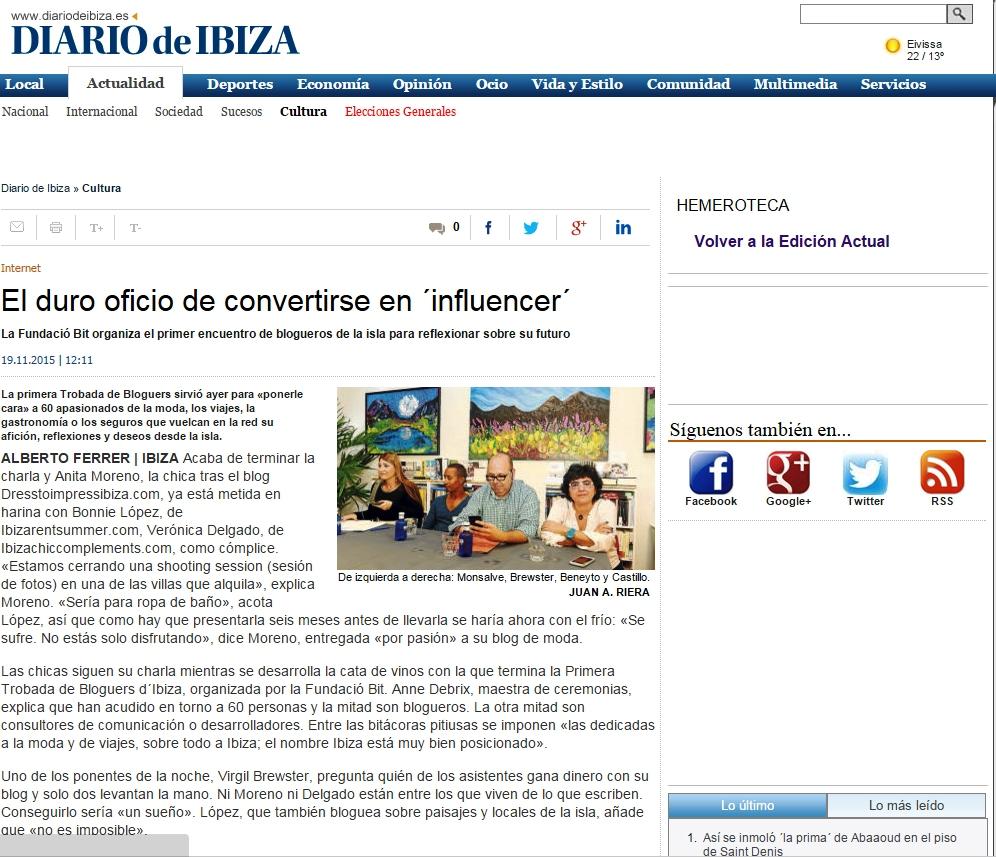 Diario de Ibiza Fundación Ibit