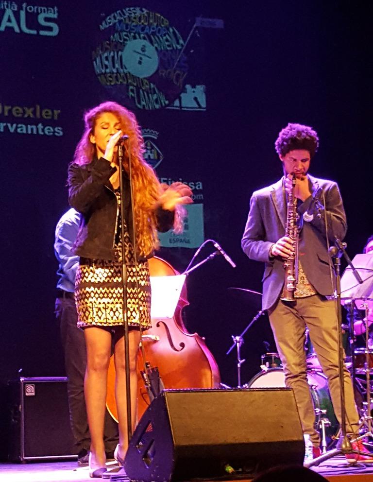 Angela Cervantes cantante de Ibiza