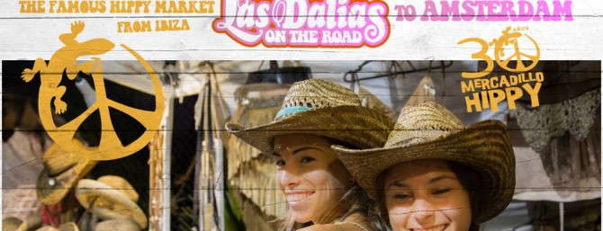 El mercaduillo de Las Dalias de Ibiza en Amsterdam