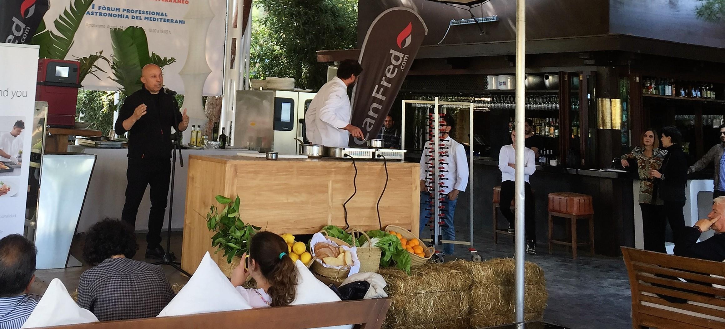 Juan luis Ferrá Companatge Foro Gastronomía del Mediterráneo de Ibiza