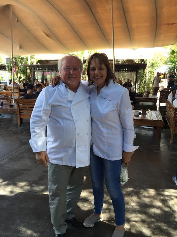 María José San Román y Neichel en el Foro de Gastronomía del Mediterráneo de Ibiza