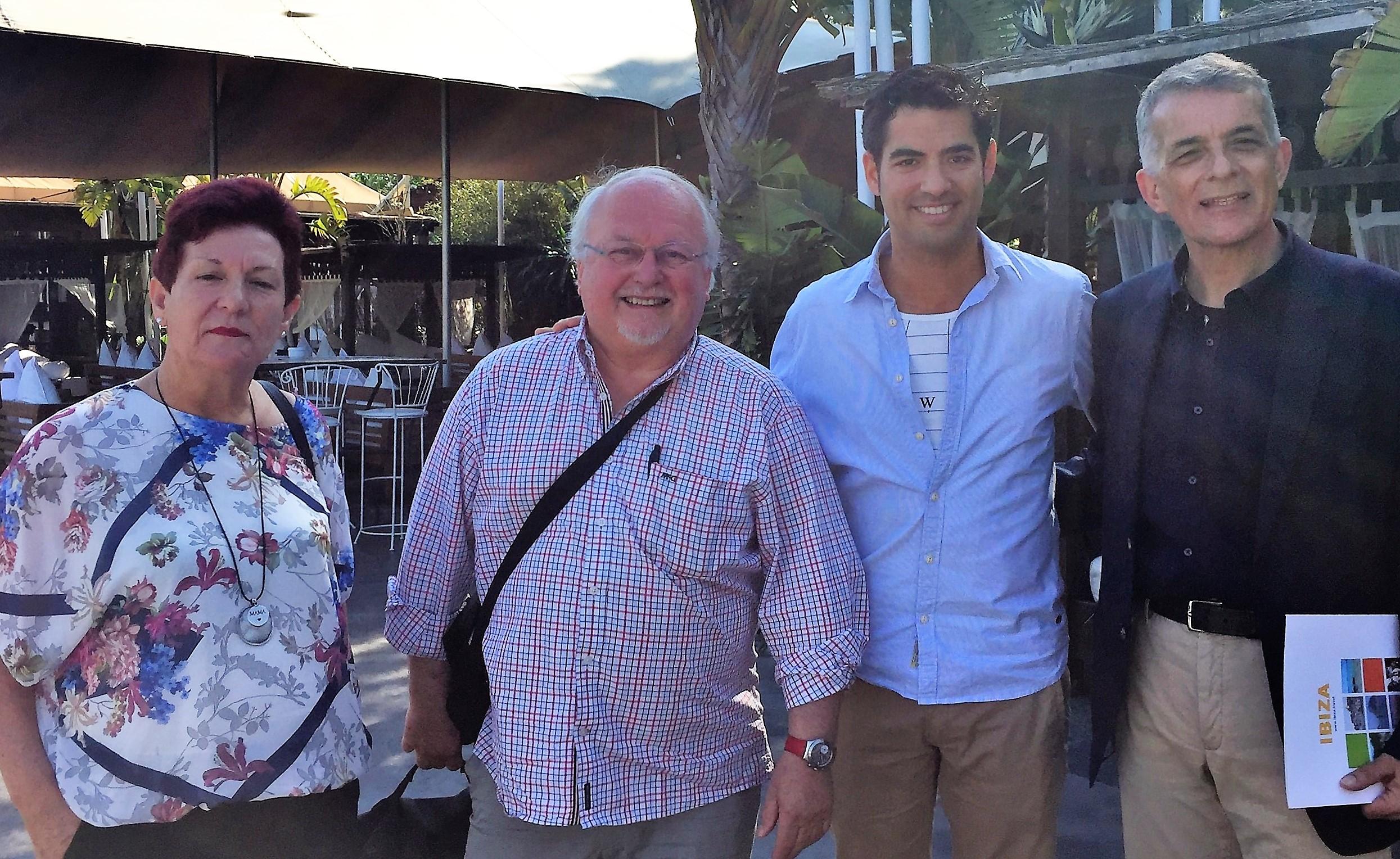 Neichel y Genestra en el Foro de Gastronomía del Mediterráneo de Ibiza