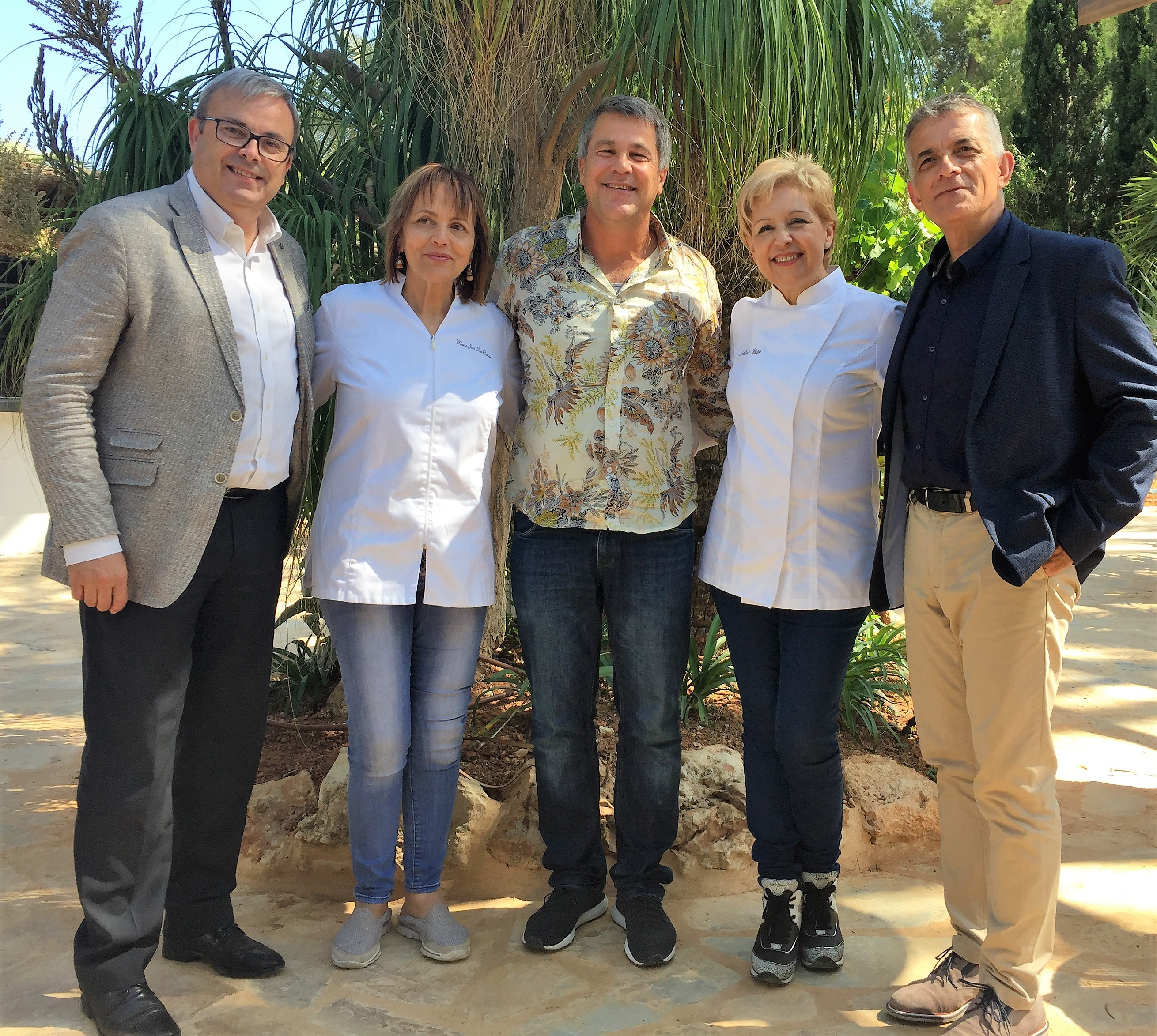 Susi Díaz y María José San Román en el Foro de Gastronomía del Mediterráneo Ibiza