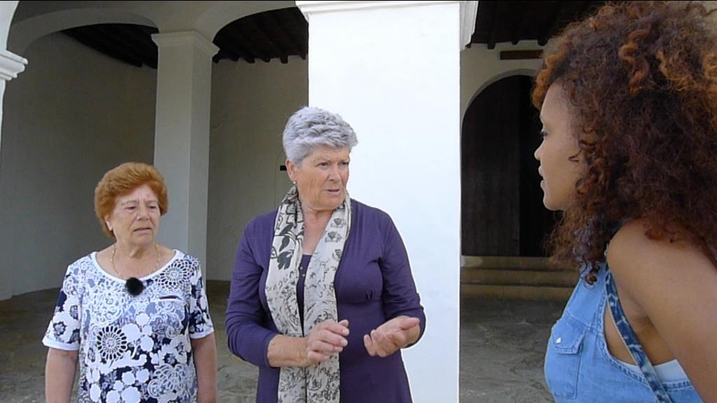 Lucía A. Mbomío, María Marí y Antonia Torres