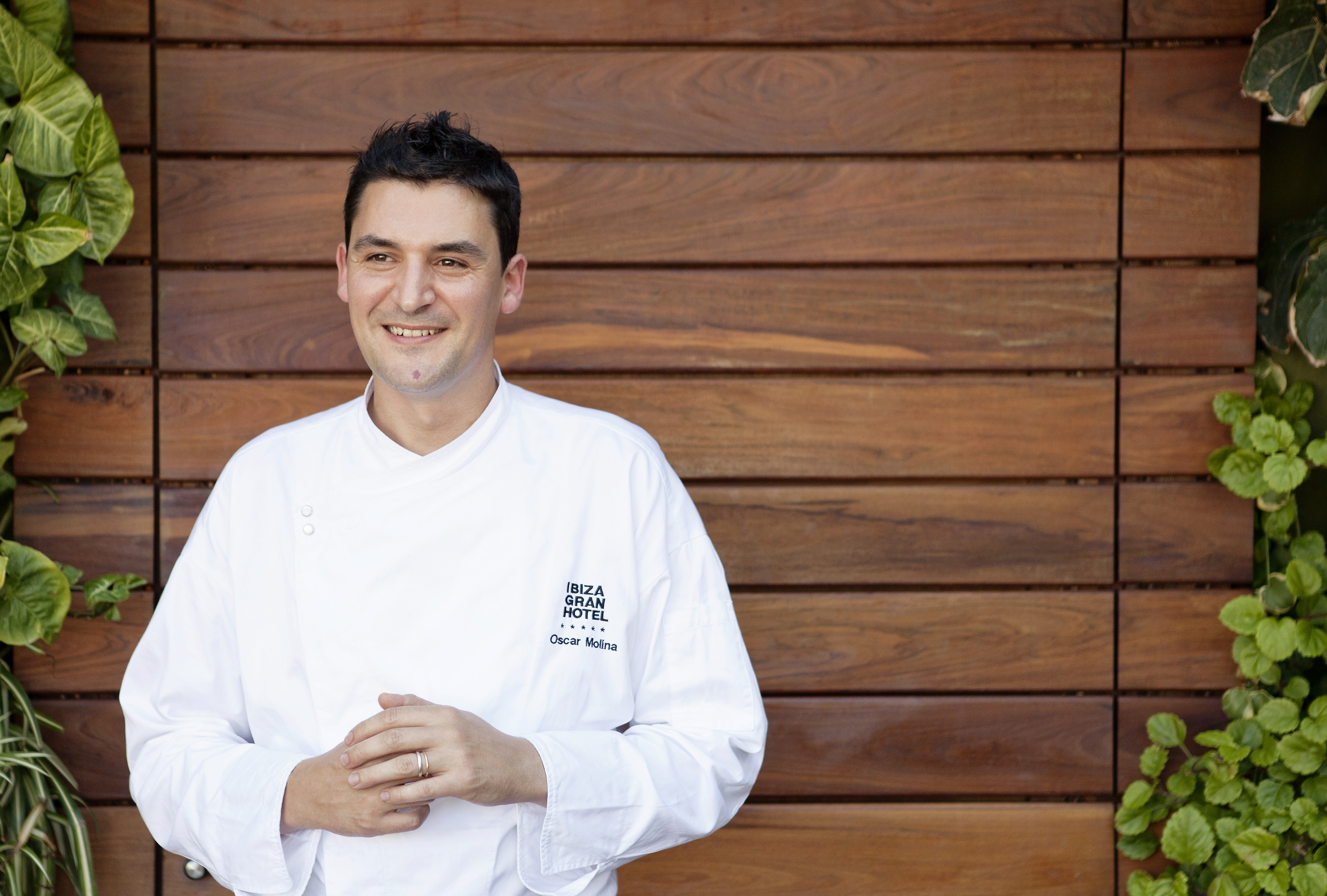 Chef Oscar Molina de La Gaia