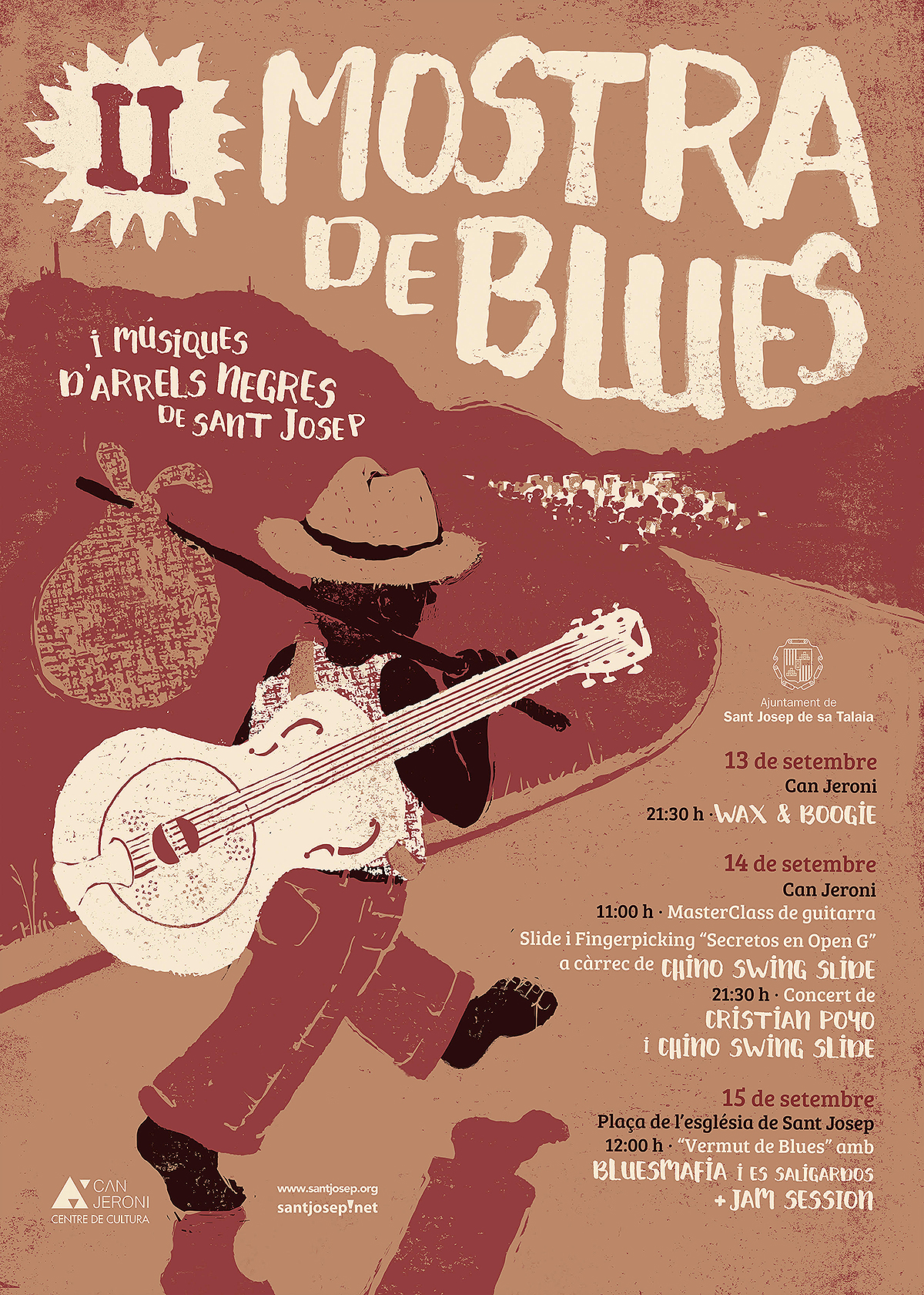 cartell II Mostra Blues rec